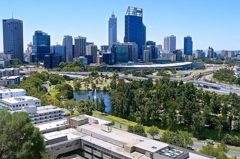 Perth Skyline from Kings Park – 50 years later   Expat Australia   Scoop.it