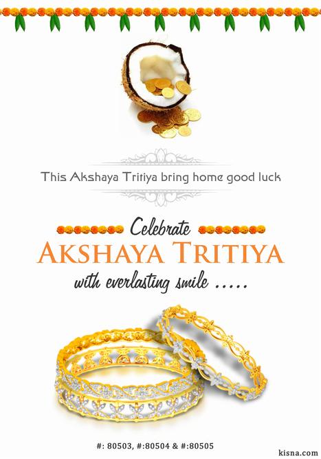 Happy Akshaya Tritiya ! www.kisna.com   Gold Diamond Jewellery Designs   Scoop.it