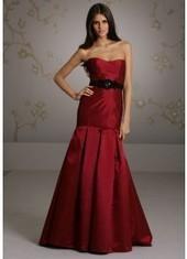 Trumpet Mermaid Sweetheart Floor Length Red Bridesmaid Dress Bbjh0047 for $370 | 2014 landybridal wedding party dresses | Scoop.it