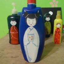 Make a Doll with empty lotion container | Amazing DIY craft ideas | Scoop.it