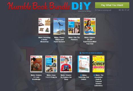 Humble Book Bundle com mais de 15 livros Make pelo preço que quiseres pagar | Books, Photo, Video and Film | Scoop.it