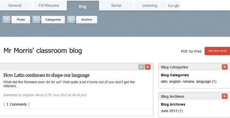 How Blogging Can Improve Pupils' Writing Skills And More | English Writing and Technology | Scoop.it