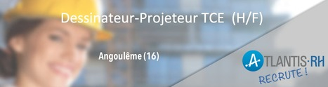 Dessinateur-projeteur TCE (H/F) | Emploi #Construction #Ingenieur | Scoop.it