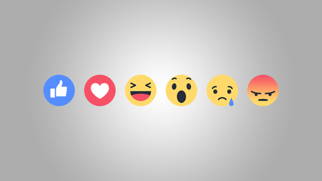 Facebook lance enfin ses alternatives au « j'aime » | Libertés Numériques | Scoop.it