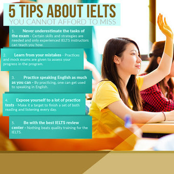 5 Tips about IELTS You Cannot Afford to Miss | IELTS Writing Test Tips and Training | Scoop.it