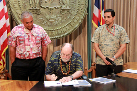 VIDEO: Ocean Resources Management Plan signed by Governor - Big Island Video News | Fisheries & Fishing Technology | Scoop.it