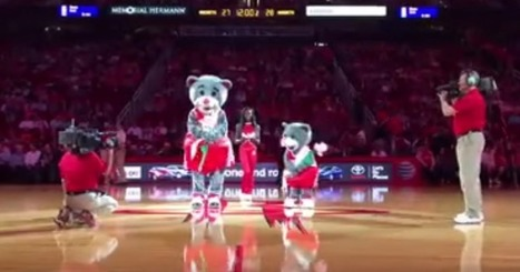 Rockets Mascot Re-Enacts Miss Universe 2015 Announcement (VIDEO) | Mascots | Scoop.it