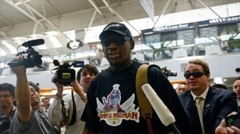 Rodman hopes game with ex-NBA players thaws relations between U.S. and North Korea   NBA Basketball   Scoop.it