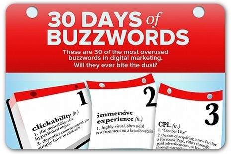 30 most overused buzzwords in digital marketing | Articles | Home | Digital Marketing and Leadership | Scoop.it