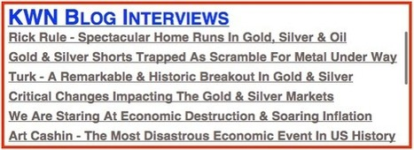 Faber - The Most Dangerous Trend Facing The World Today   Gold and What Moves it.   Scoop.it