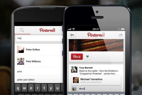 Pinterest Adds Notifications, Mentions and Improved Searching to its Mobile App | Internet Billboards | Mobile Media Coverage | Scoop.it