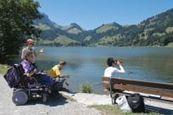 Zwitserland lanceert rolstoelvriendelijke routes