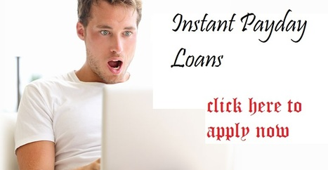 Instant Payday Loans Get Cash For Small Time Period   Instant Payday Loans   Scoop.it