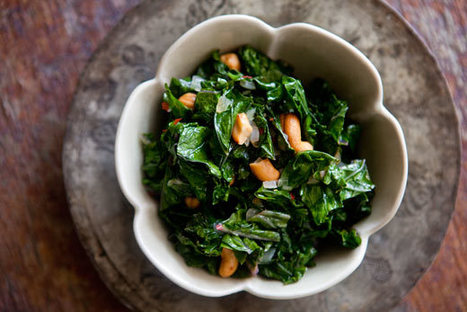Sautéed Kale with Toasted Cashews | Healthy Whole Foods | Scoop.it
