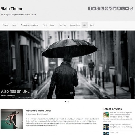15 Awesome Free Wordpress Bootstrap Themes - Themes Pad | Bootstrap Themes | Scoop.it