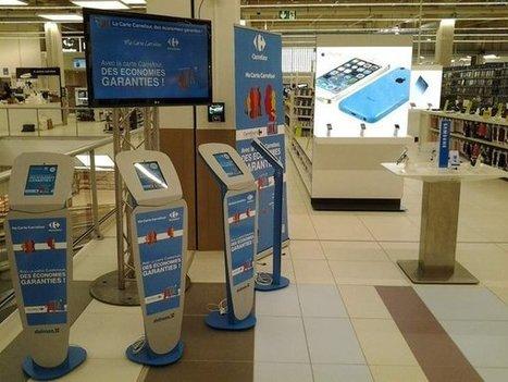 Carrefour invente l'Hyper-connecté ... à ses clients. Une réussite pleine de promesses.   Carrefour Veille DD   Scoop.it