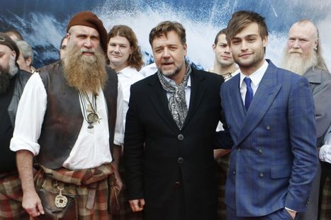 In pictures: Hollywood actor Russell Crowe in Scotland for Noah premiere - Scottish Daily Record | Scottish Tourism | Scoop.it