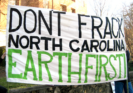 Two Arrested at Fracking Protest in North Carolina | EcoWatch | Scoop.it