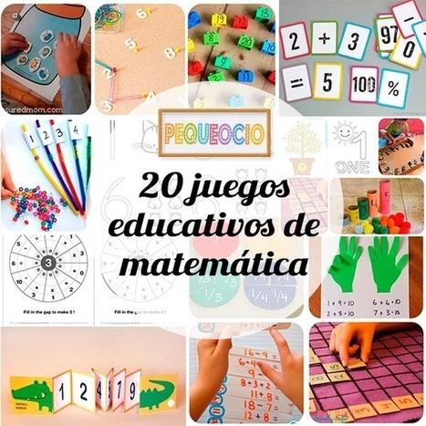 20 juegos educativos para aprender matemática | estrategia pedagogica | Scoop.it