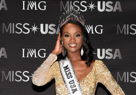 Miss USA Is A Black Army Officer Advocating For PTSD Sufferers | Women's Mental Health | Scoop.it