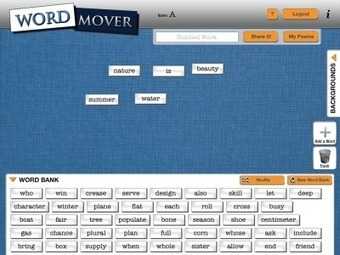 Wordmover for Poem Creation | Apple nieuws voor basisscholen | Scoop.it