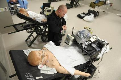 Air Force to train on 'patient simulators' at University of Cincinnati: PHOTOS - Cincinnati Business Courier | Medical Simulation | Scoop.it