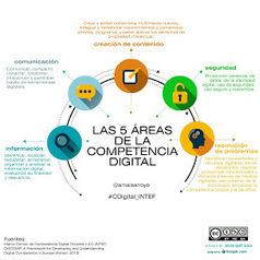 Educación y Comunicación en la Red: LAS 5 ÁREAS DE LA COMPETENCIA DIGITAL | TIC en infantil, primaria , secundaria y bachillerato | Scoop.it