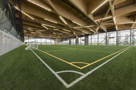 Stade De Soccer de Montréal / Saucier + Perrotte architectes + HCMA | Building with wood | Scoop.it
