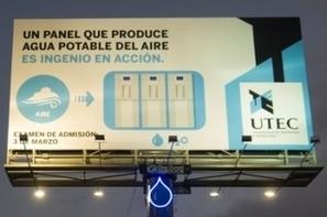 La publicité qui transforme l'air en eau | Innovation dans l'Immobilier, le BTP, la Ville, le Cadre de vie, l'Environnement... | Scoop.it