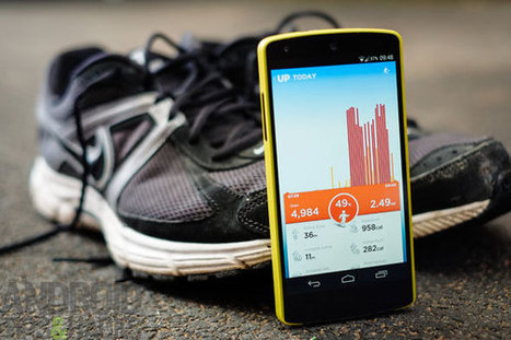 UP by Jawbone review: track your activity without a fitness band | Android | Scoop.it