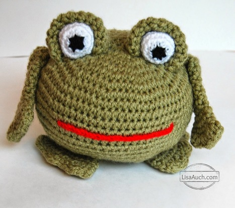 Free Amigurumi Crochet Frog Patterns - Crochet this adorable Frog with this Easy Crochet Pattern | Crochet Crochet Crochet.... | Scoop.it