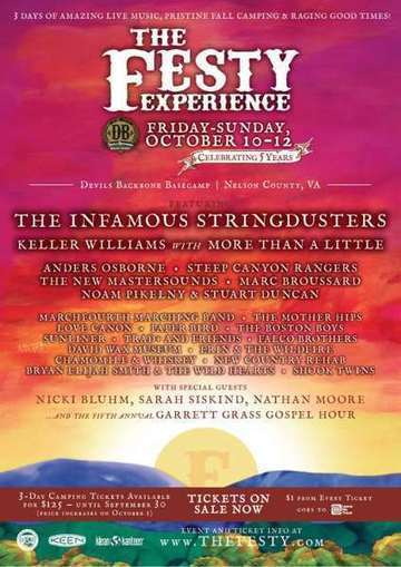 Infamous Stringdusters Announce Festy Experience Lineup - JamBase | Acoustic Guitars and Bluegrass | Scoop.it