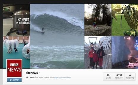 Instagram : la BBC lance Instafax, des bulletins d'informations en vidéo | Actu du web, de la mobilité, du multicanal et de l'e-commerce | Scoop.it