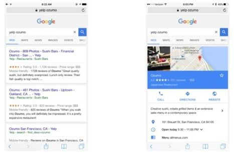 Google Says Local Search Result That Buried Rivals Yelp, TripAdvisor Is Just a Bug (Updated) | Local Search Marketing SEO & News | Scoop.it