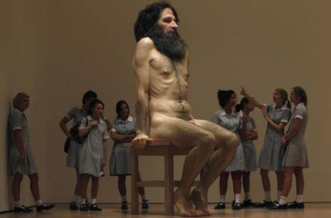 Ron Mueck: Wild Man | Art Installations, Sculpture, Contemporary Art | Scoop.it