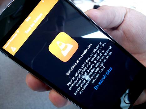 L'application VLC optimisée pour l'Apple Watch - Le Soir | Applications Iphone, Ipad, Android et avec un zeste de news | Scoop.it
