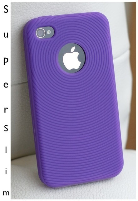 (Purple) Silicon Case for iPhone 4S/4 - Apple - Mobile accessories | IPhone Cases | Scoop.it