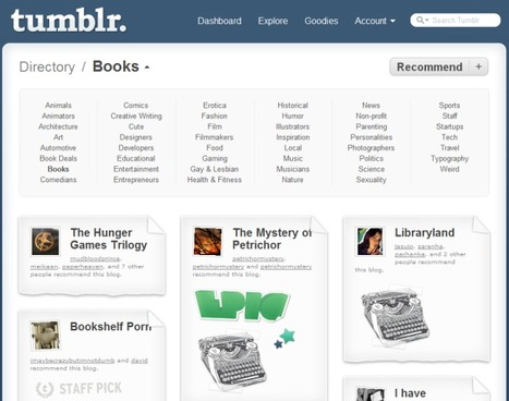 Tumblr Revamps 'Directory' To Better Surface Great Content(Video) | Brand & Content Curation | Scoop.it