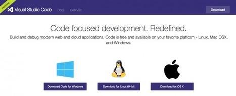 BUILD 2015 : Visual Studio Code, Azure, Windows 10, Objective-C et Java sur Visual Studio… | Developers : tools, tips and news | Scoop.it