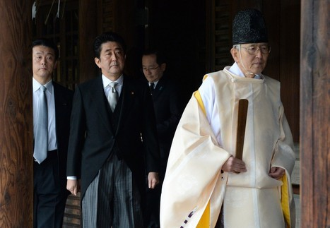 Abe visits shrine to Japanese war dead, angering neighbors, US - Los Angeles Times | News about Japan | Scoop.it