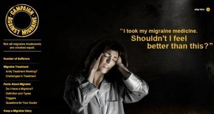 Pfizer launches 'Campaign Against Migraine' website | Better patient outcomes through technology | Scoop.it