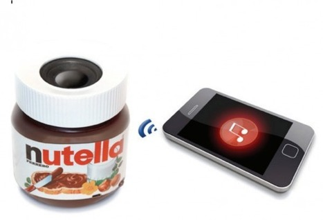 Nutella Speakers: It's Delicious Music Time | scatol8® | Scoop.it