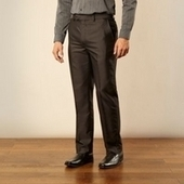Big and tall dark grey tonic striped trousers - Just Be Fancy | Online Clothes for Men | Scoop.it