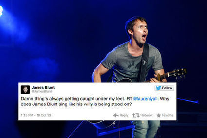 30 Reasons Why James Blunt Won At Twitter In 2013 | Opinion | Scoop.it
