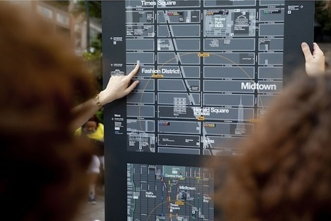 NYC's Innovative New Map System Won't Leave You Lost | visual data | Scoop.it