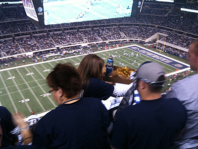 Cowboys Stadium food concessions require wallet concessions from attendees | Sports Facility Management - 4244729 | Scoop.it