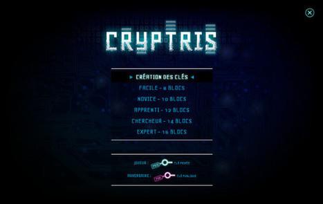 Cryptris, un jeu Tetris pour comprendre simplement la cryptographie | Jeu Serieux | Scoop.it