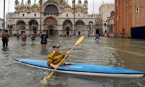 Scientists reveal Venice is sinking FIVE times faster than previously thought | Venice | Scoop.it