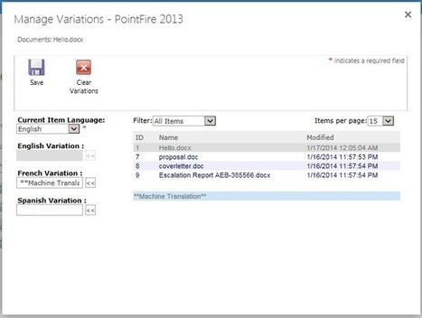 IceFire Blog | Machine Translation in PointFire 2013 | PointFire- Multilingual Solution for SharePoint | Scoop.it