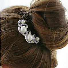 Beautiful Alloy With Imitaion Pearl/Rhinestone Women's Casual Hairpins(More Colors) | Product We Love | Scoop.it